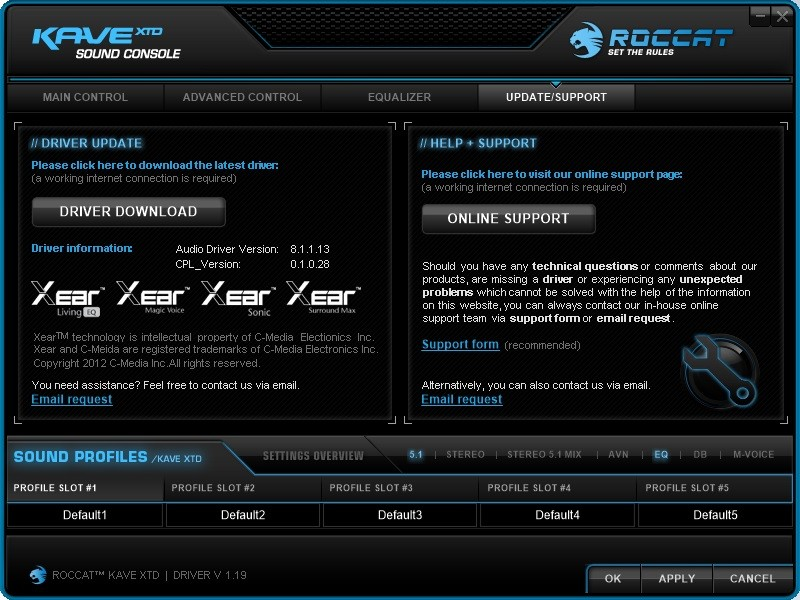 Roccat_Kave_XTD_Update_Support