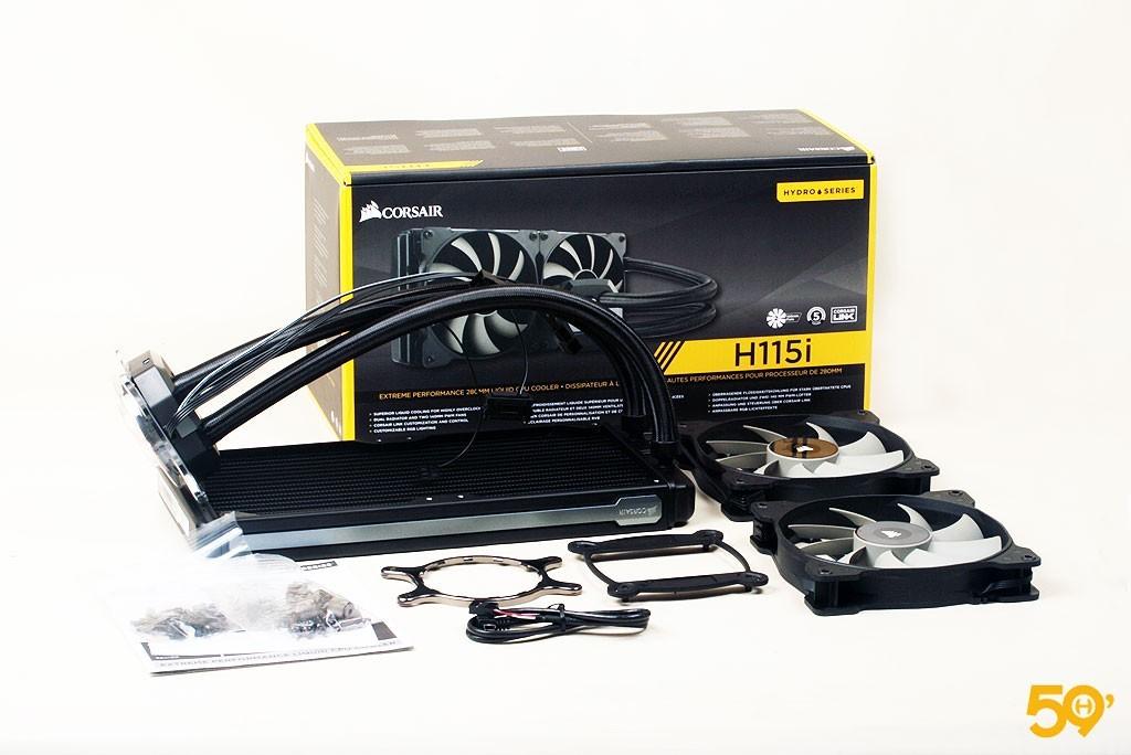 Corsair H115i 13