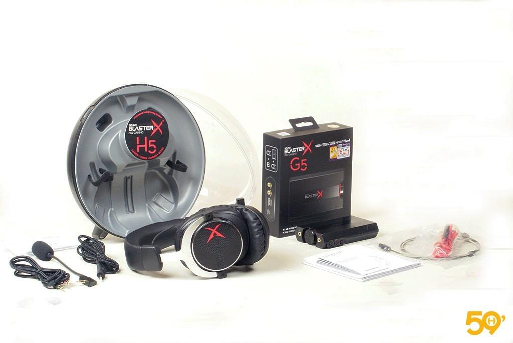 SOUND BLASTER X H5 et G5 1
