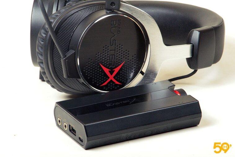 SOUND BLASTER X H5 et G5 12