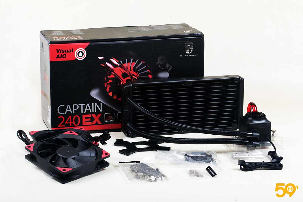 Deepcool GamerStorm Captain 240 EX 10