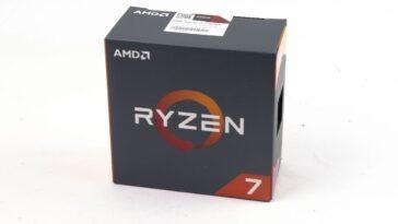 AMD Ryzen 1700X et 1700