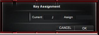Asus key assignement