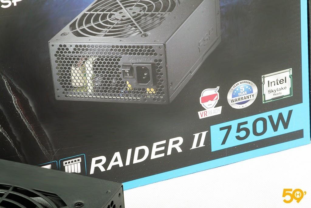 FSP Raider II 750 8