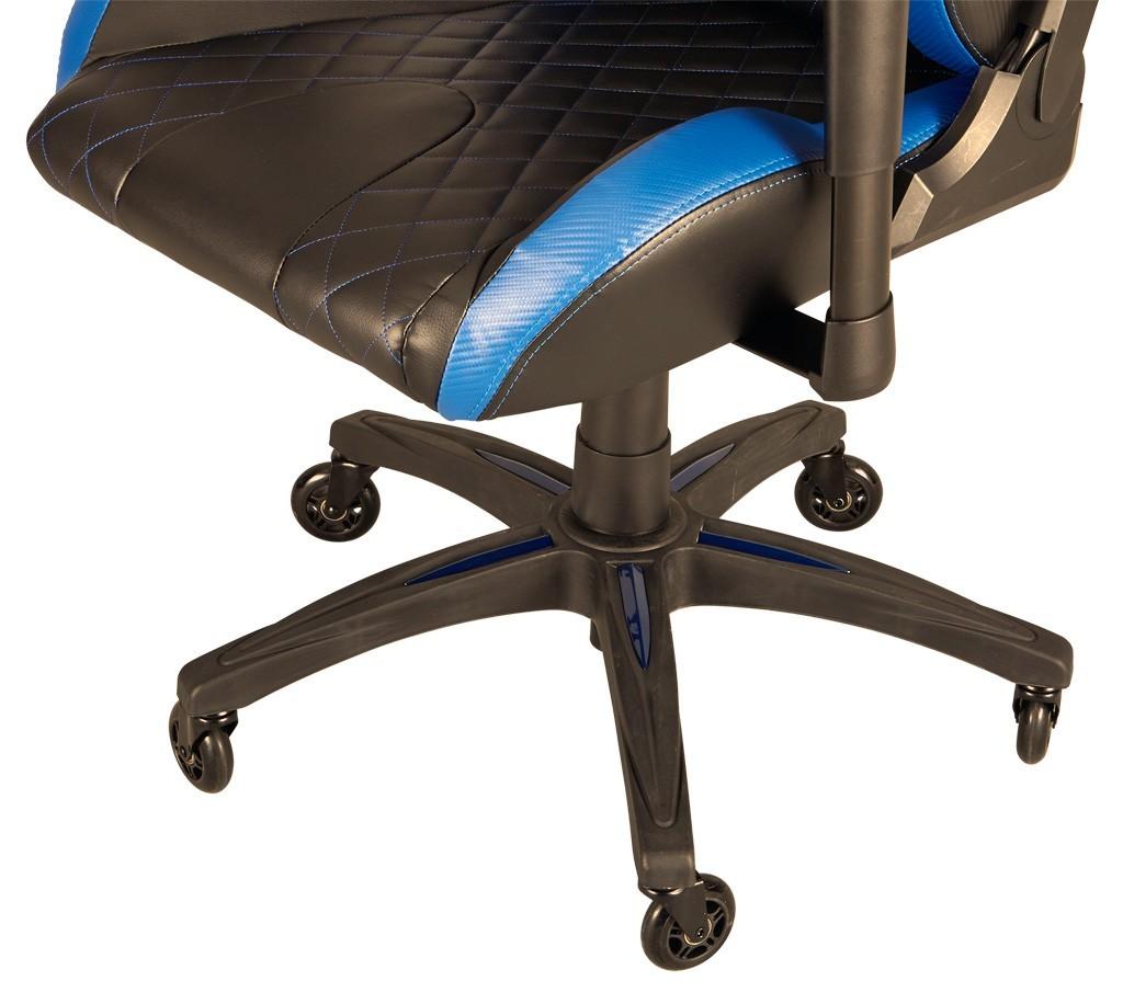 partie basse chaise gamer Corsair T1 Race