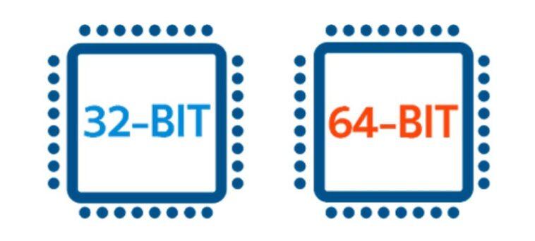 32 bit y 64 bits