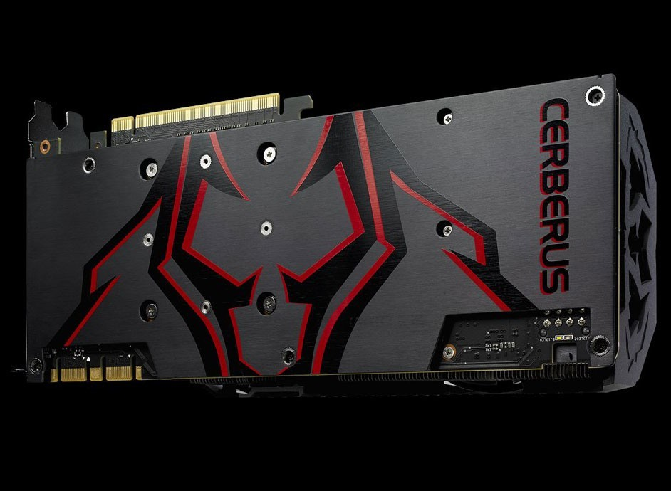 CERBERUS GTX1070TI A8G 3