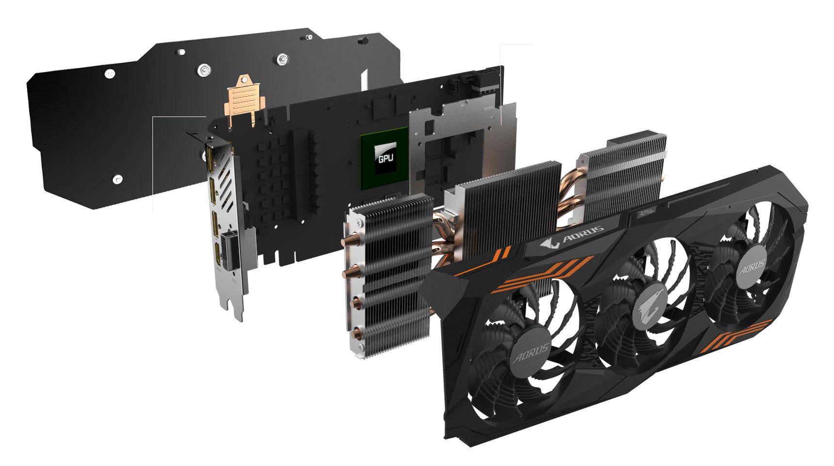 GeForce GTX 1070 Ti AORUS 1