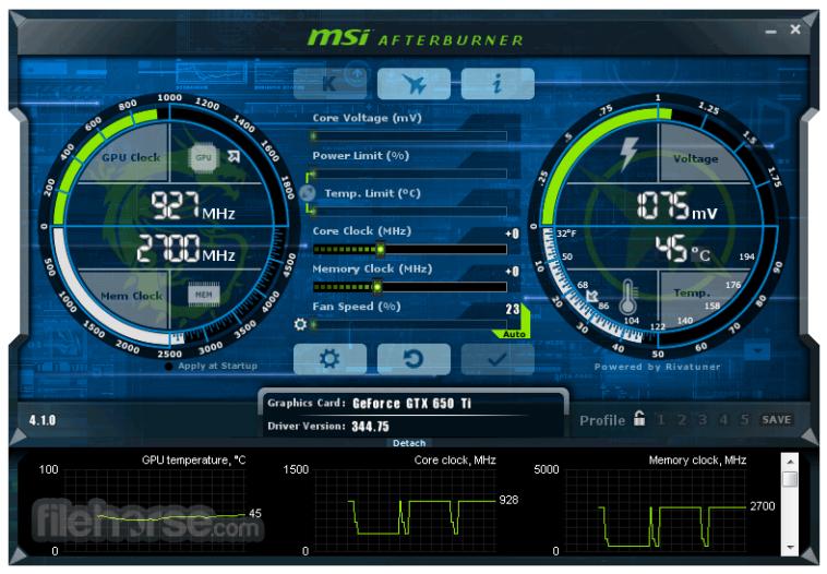 msi afterburner screenshot 442