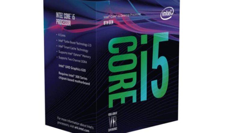 Intel Coffee Lake Intel Core i5 8500 16 01