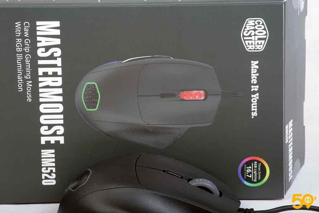 souris gamer Cooler Master MM520 avis