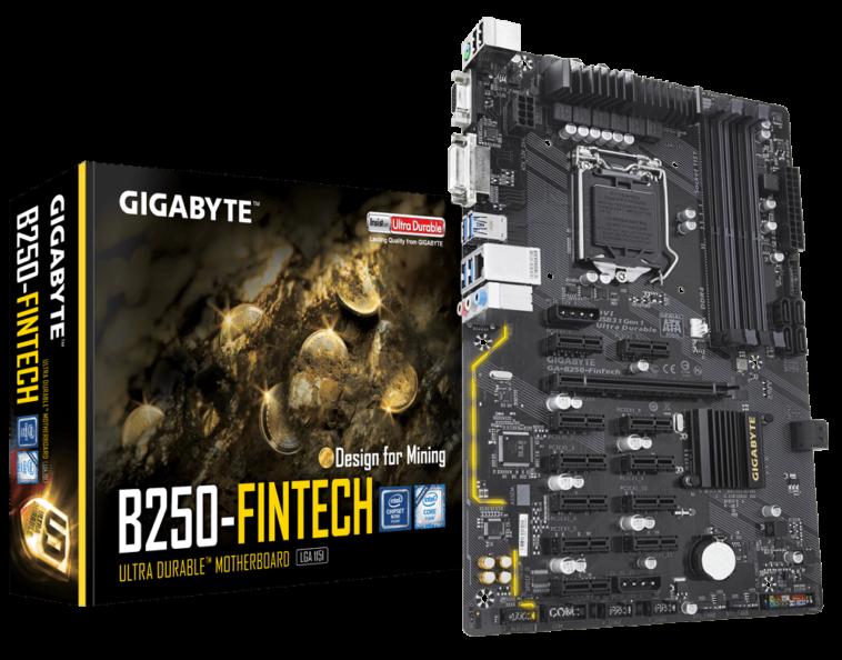 GIGABYTE GA B250 FinTech