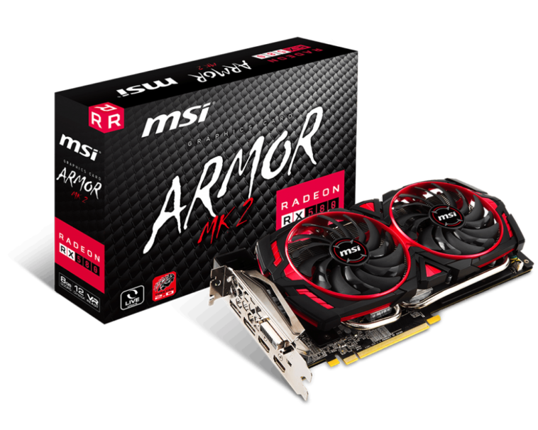 MSI Radeon RX 580 Armor MK2 8G