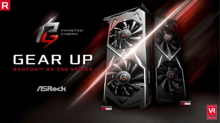 ASROCK Radeon RX 500 Phantom
