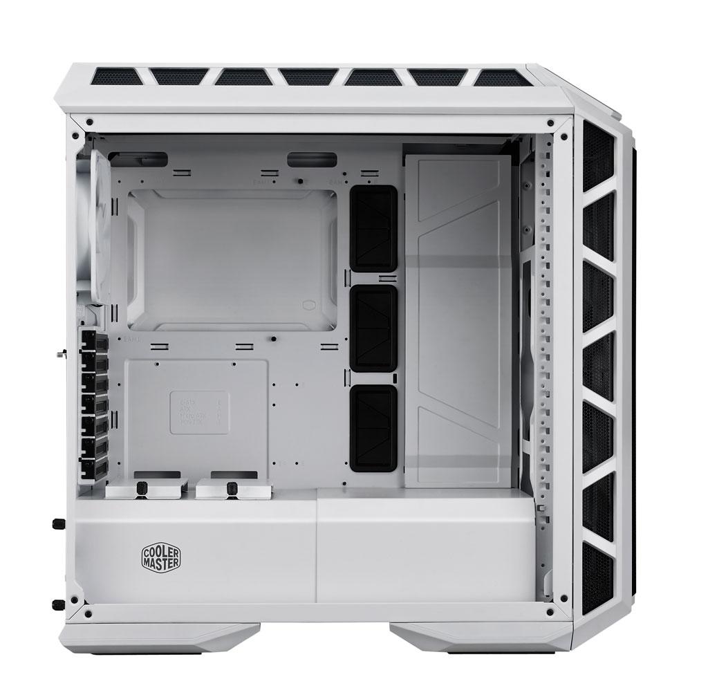 H500P MESH WHITE side01 open