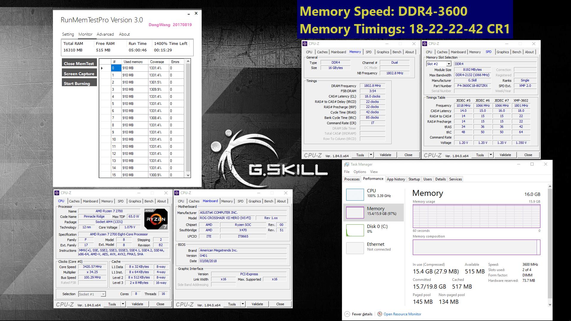 02 DDR4 3600MHz X470 5HR