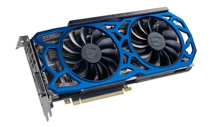 EVGA GeForce GTX 1080 Ti SC2 ELITE GAMING BLUE