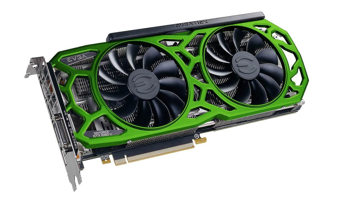 EVGA GeForce GTX 1080 Ti SC2 ELITE GAMING GREEN