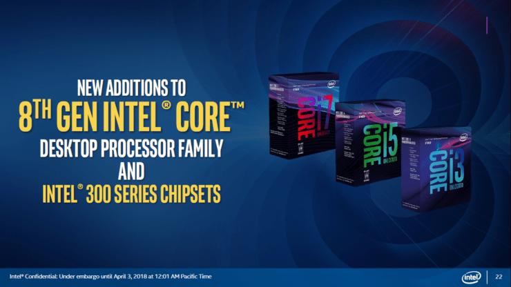 Intel 8th Gen Coffee Lake