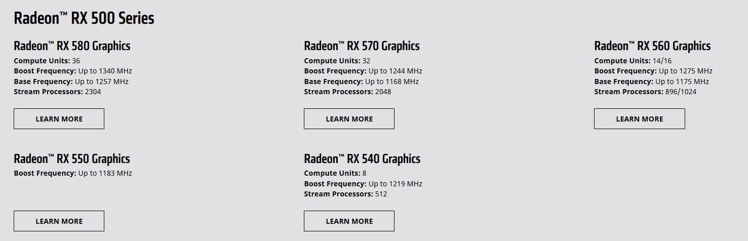 Radeon RX 500 12 04