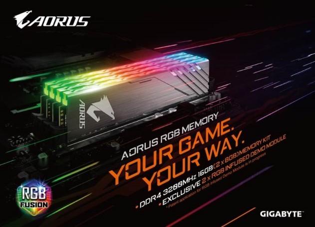 AORUS RGB Memory Fusion