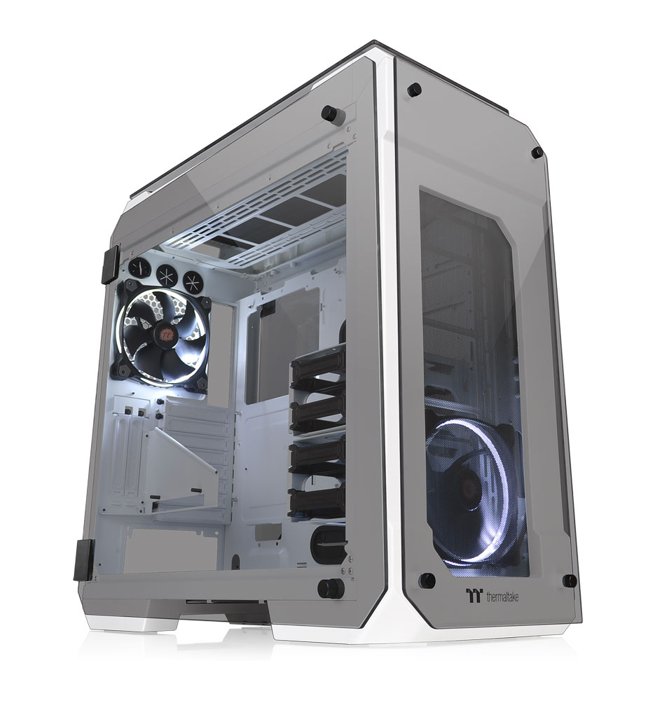 Thermaltake View 71 Tempered Glass Snow Edition Full Tower Chassis 6