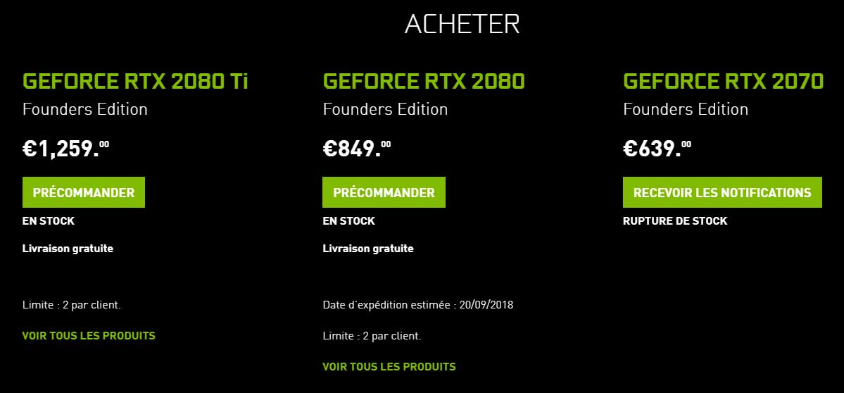 GeForce RTX 1