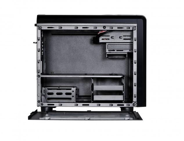 spire computer cases micro atx case spor1418b u3 015270552441