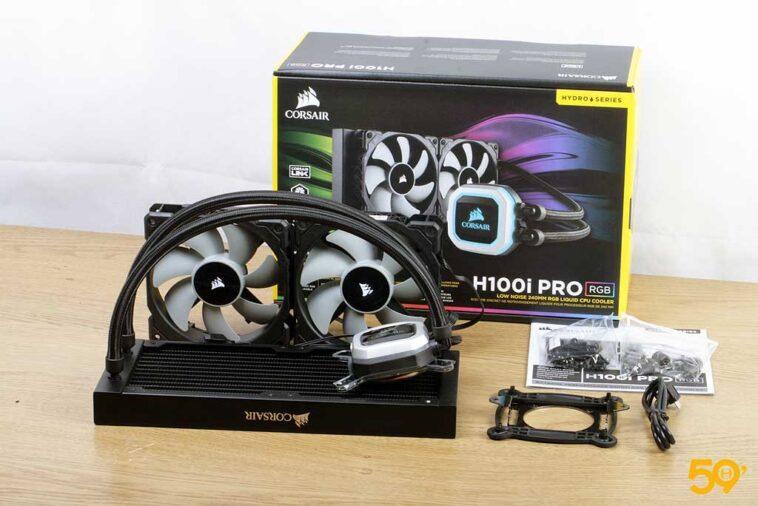 Corsair H100i Pro RGB 15