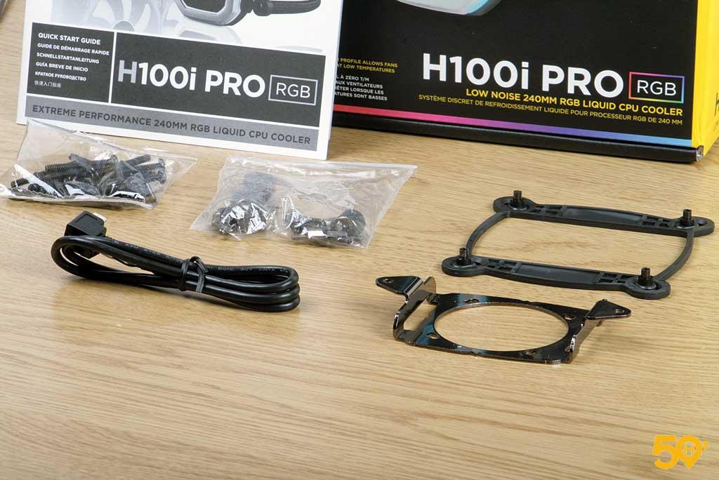 Corsair H100i Pro RGB 3