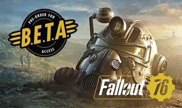 Fallout 76 pre order beta