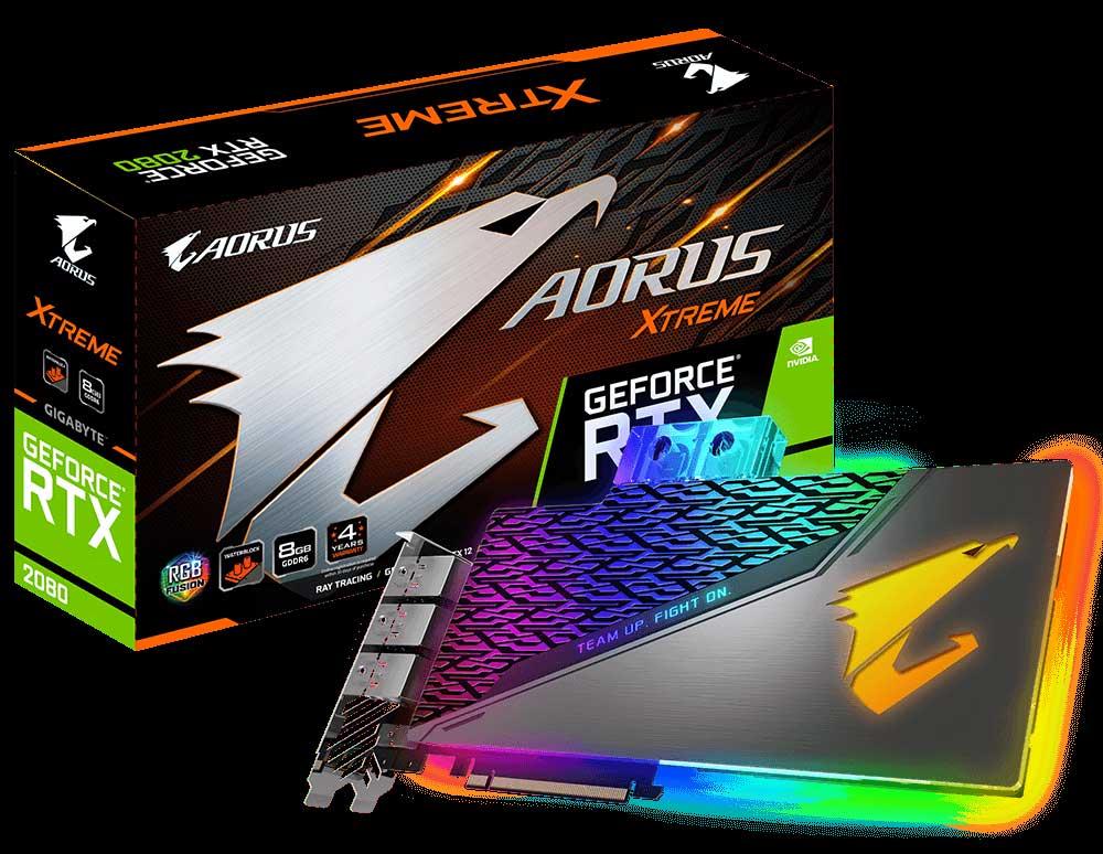 RTX 2080 Xtreme WaterForce WB 8G