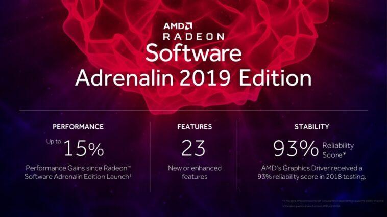 amd radeonsoftwareadrenalin2019