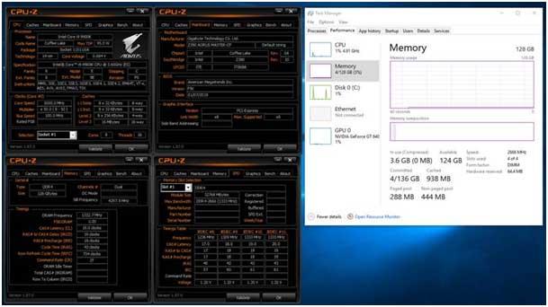 gigabyte Z390 et C246