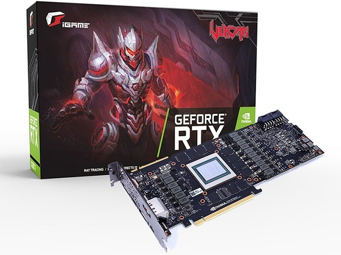 iGame GeForce RTX 2080 Ti Advanced Water cooled