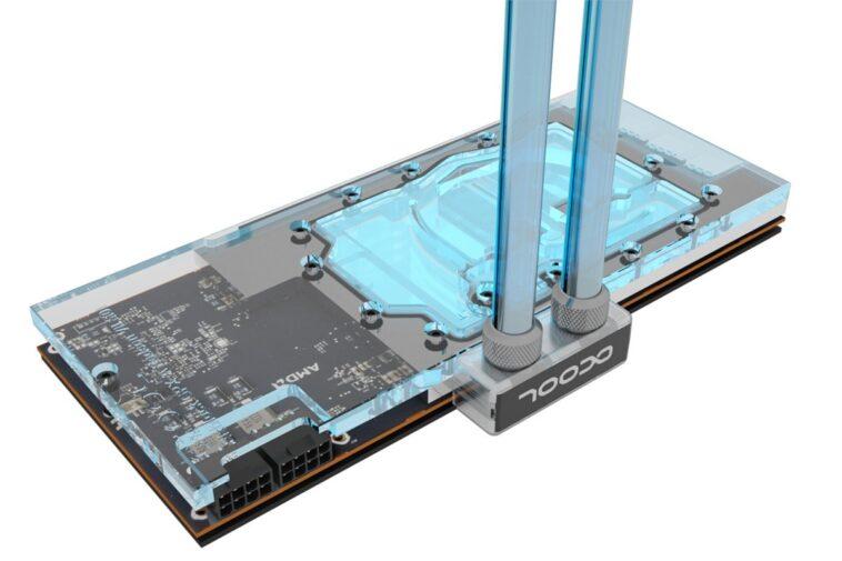 1016501 Eisblock RadeonVII mitPCB Wasser1