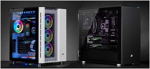 Crystal Series 680X RGB et Carbide Series 678