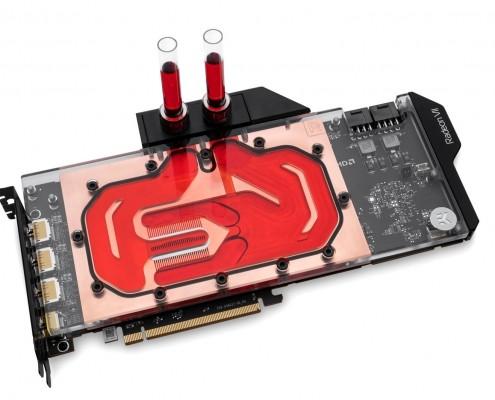EKint Vector Radeon VII Copper Plexi Front Coolant 495x4001