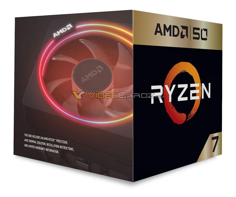 AMD Ryzen 7 2700X 50th Anniversaire 1 25 04
