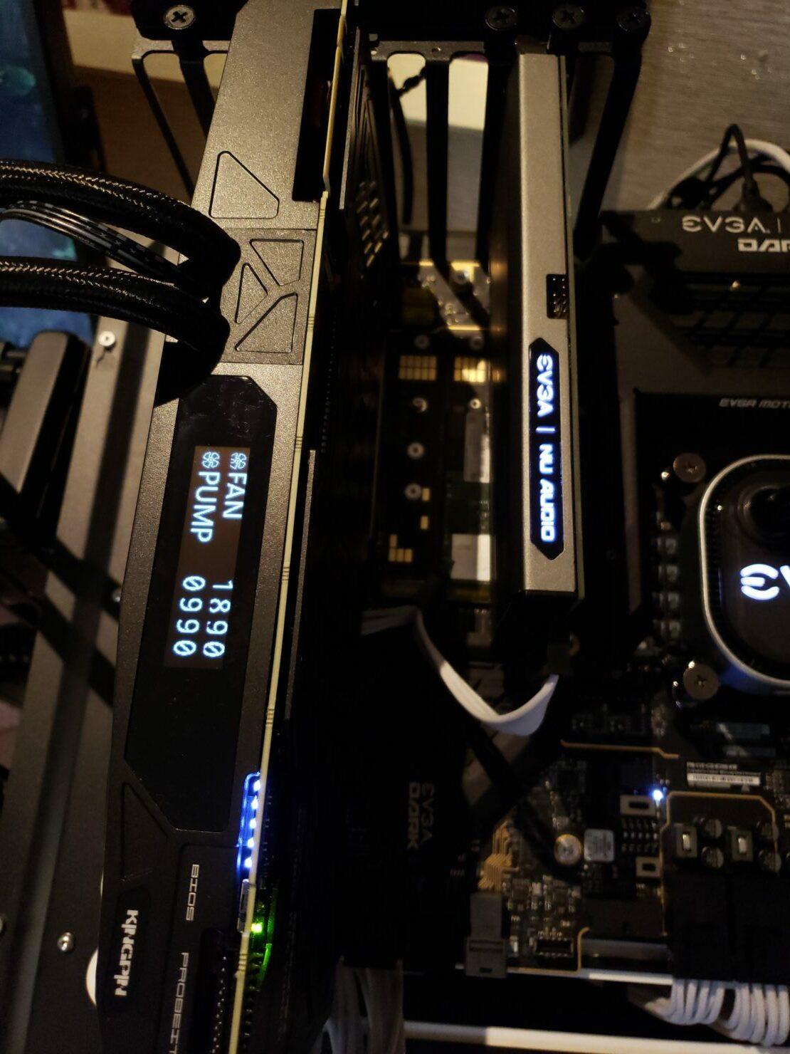 EVGA 2080 Ti Kingpin LCD