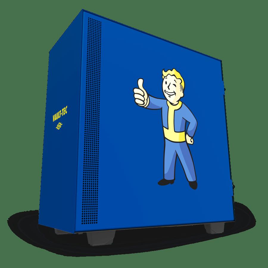 NZXT H500 Vault Boy 2