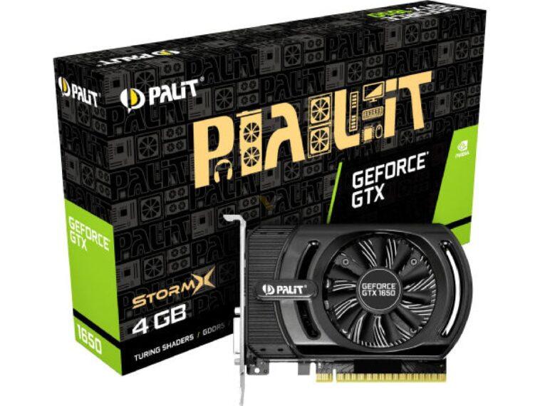 PALIT GTX1650 STORMX 11