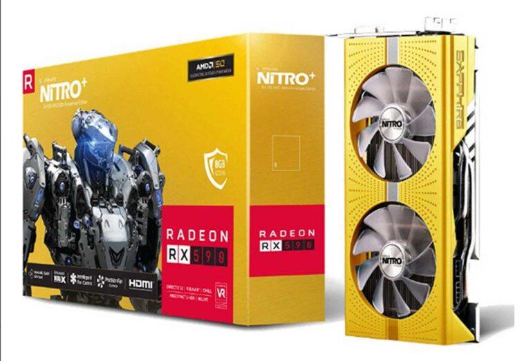 Sapphire Radeon RX 590 Nitro anniversary