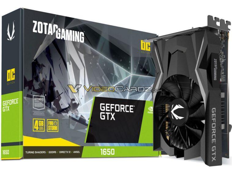 ZOTAC GeForce GTX 1650 11
