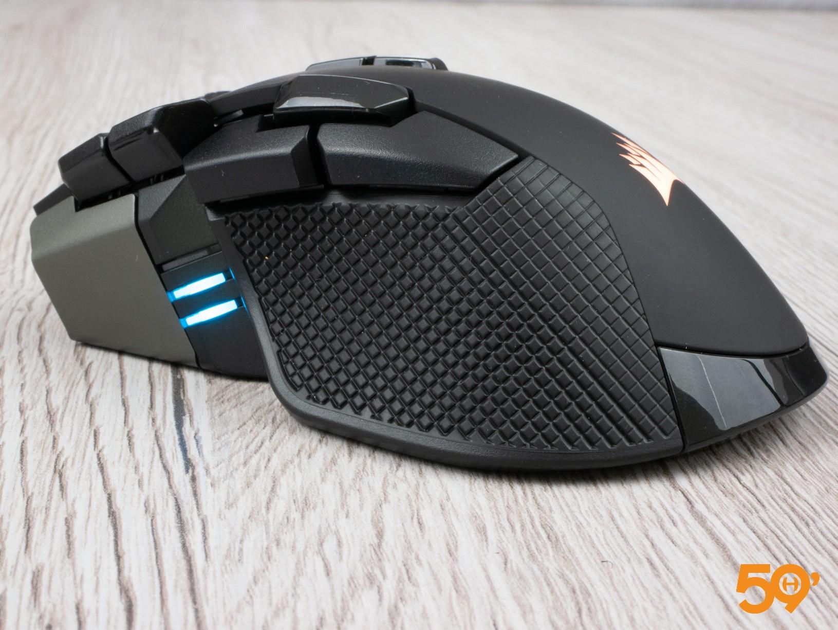 ergonomie Corsair IronClaw RGB Wireless