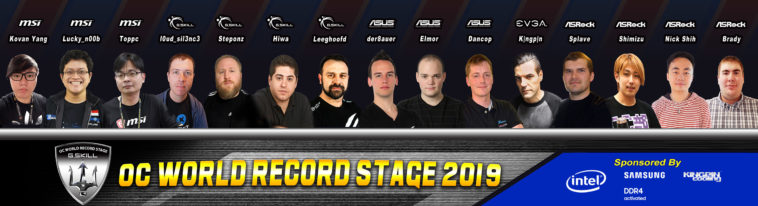 Record Stage Line up
