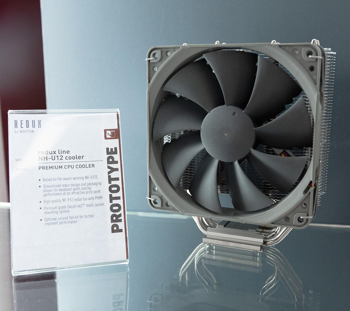 computex 2019 redux line nh u12 cooler