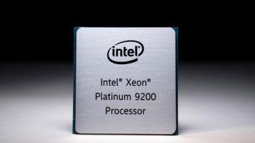 intel xeon 9200
