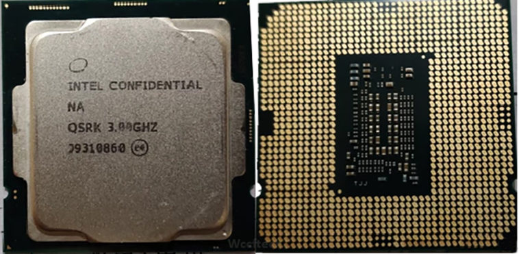 Intel Comet Lake S Pictured Core i9 10900KF CPU1