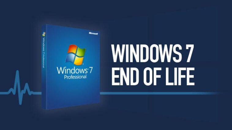 fin de vie windows7